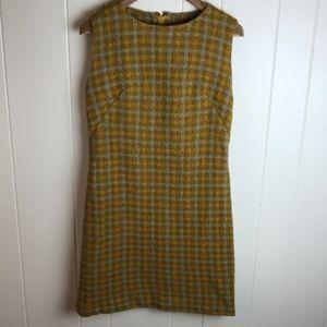 "Vintage 60s/70s Textured ""Boucle"" Sheath Dress"